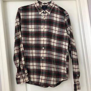 Men's J.Crew Slim-fit Flannel Shirt Size L